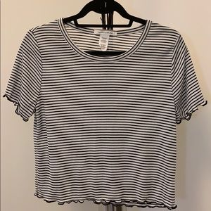 NWOT Stripped short sleeve top